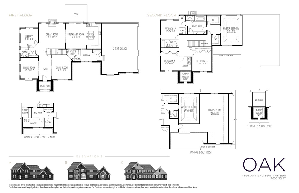 Floor Plans Merit Homes